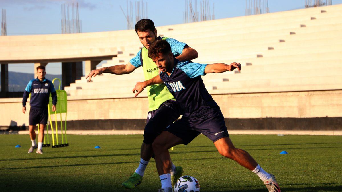 Kombëtarja, stërvitje me lojtarët që nuk u angazhuan kundër Moldavisë