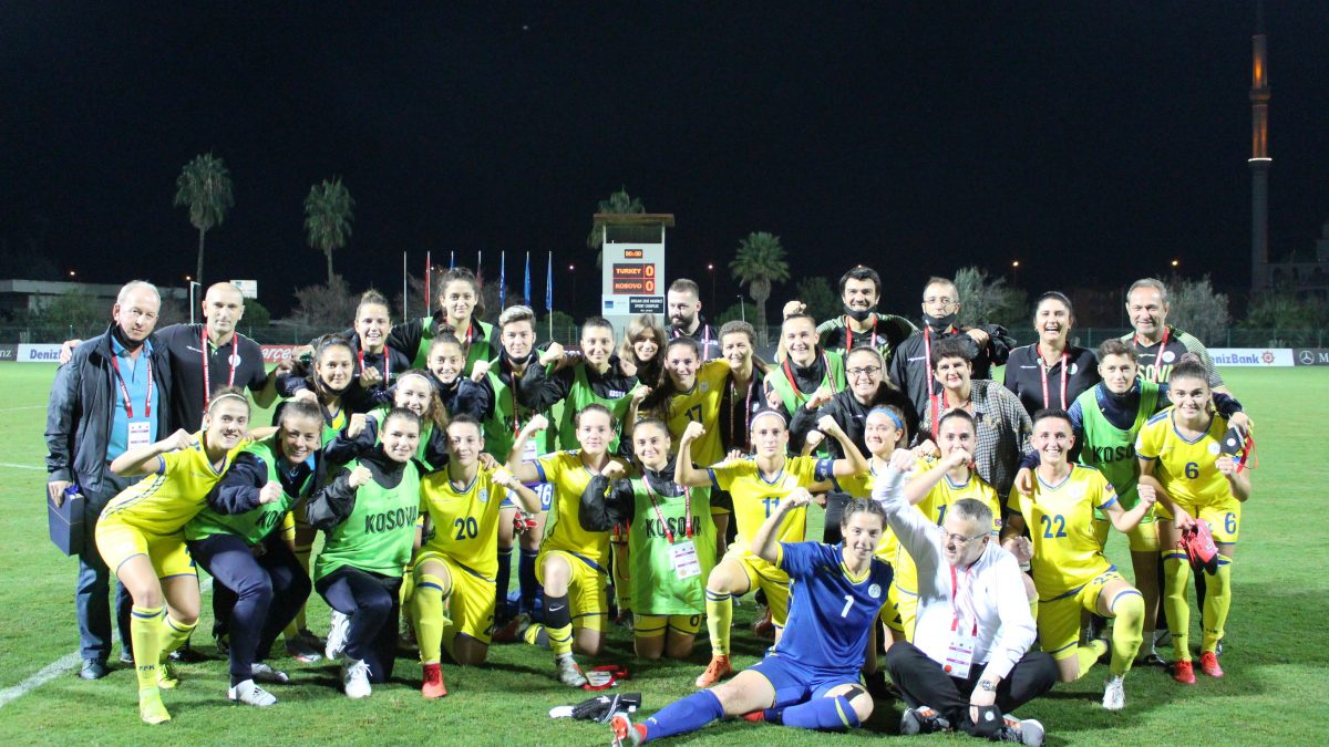 Kosovo girls collect one point in Turkey
