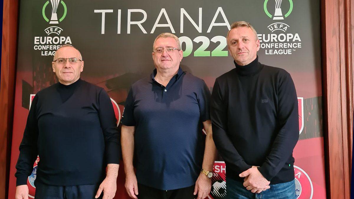 Krerët e FFK-së takuan Armand Dukën, diskutuan për aplikimin e VAR-it në Kosovë