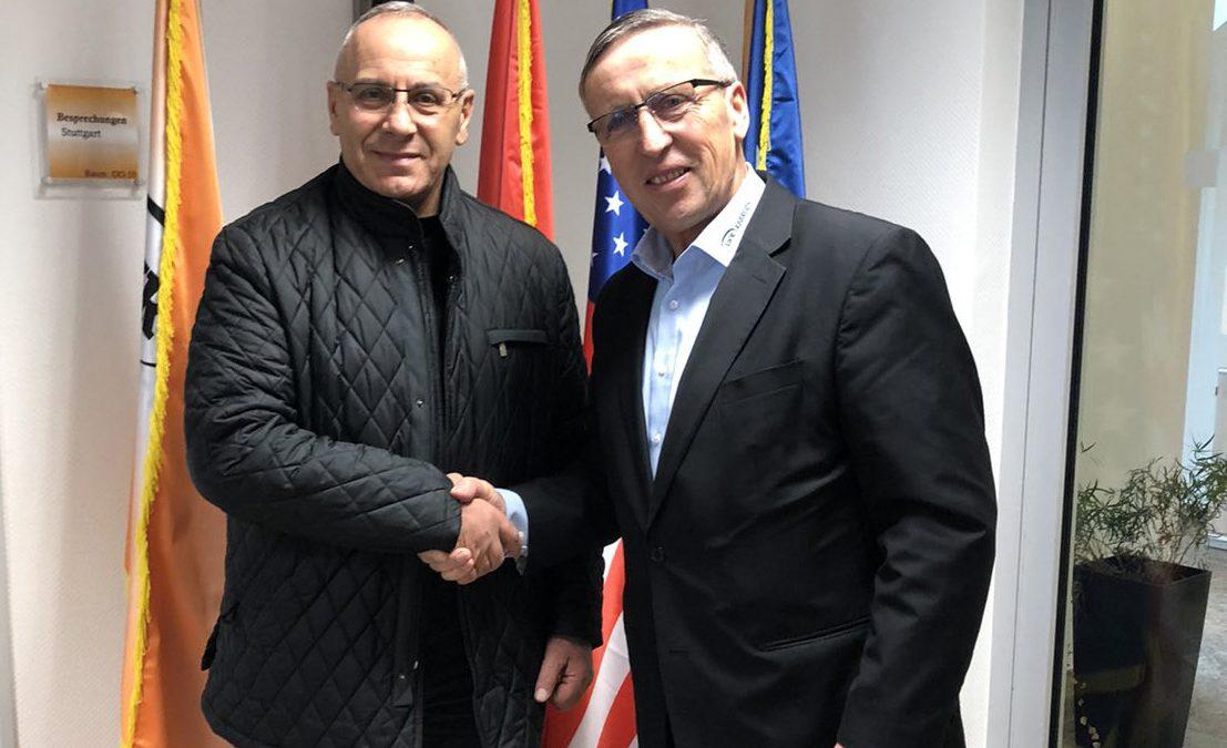 Presidenti Ademi takoi kryetarin e Unionit të Bizneseve Shqiptare-Gjermane