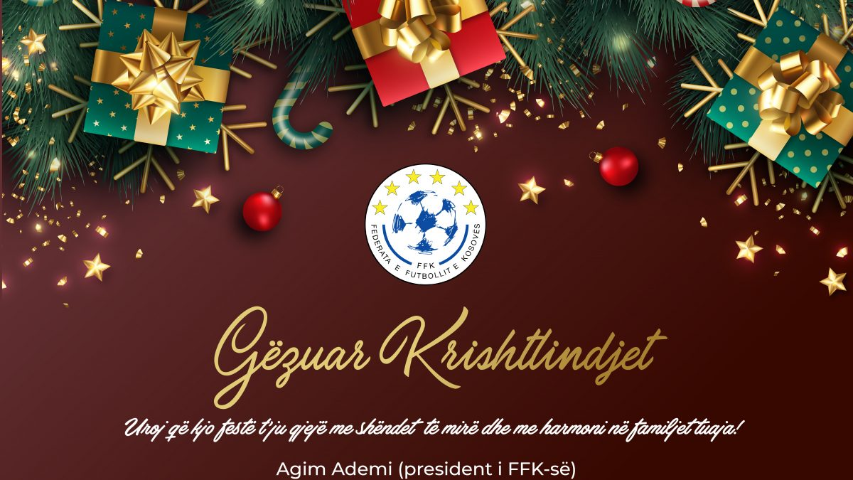 Mesazh-urimi i presidentit Agim Ademi për Krishtilindje!