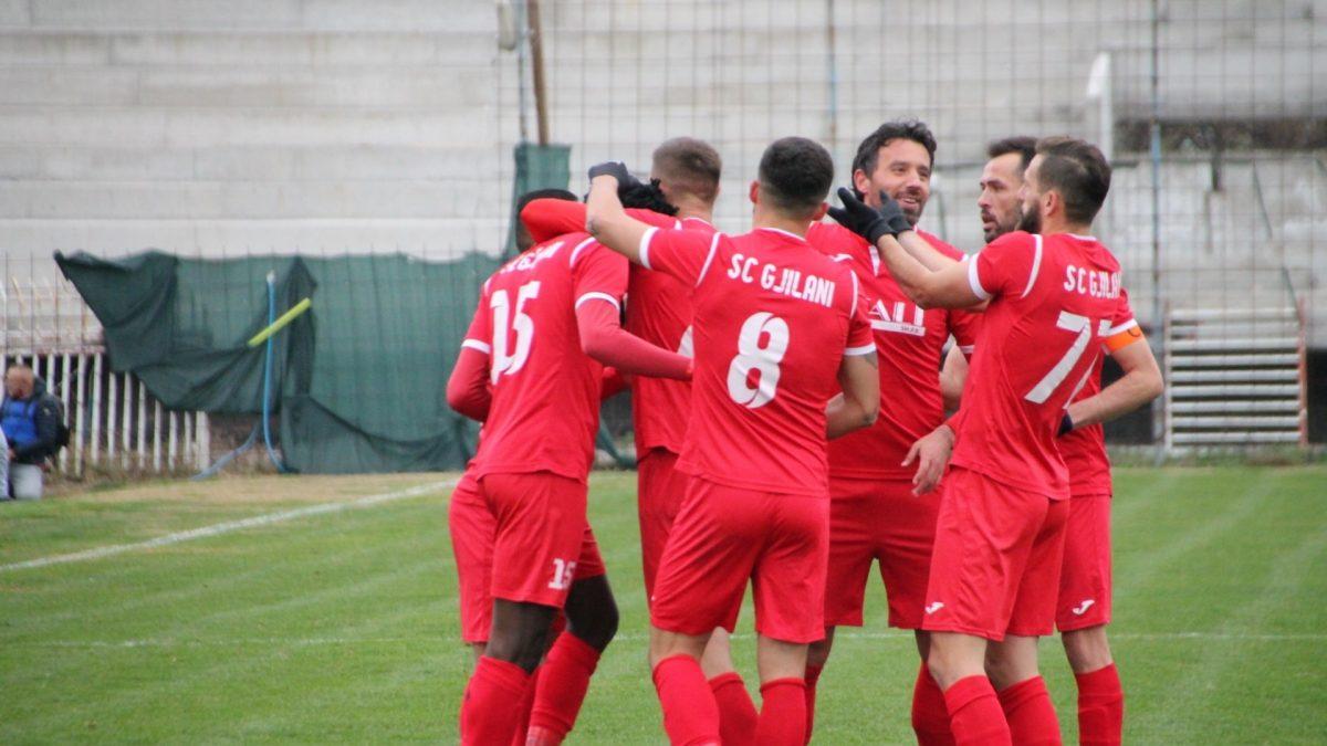 Gjilani kalon në 1/8 e finales në Kupën e Kosovës