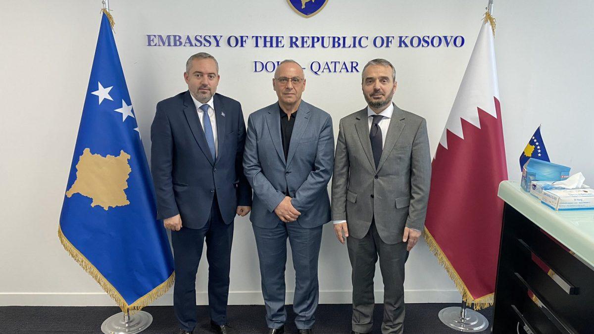 Presidenti Ademi u prit nga ambasadori Amir Ahmeti në Doha