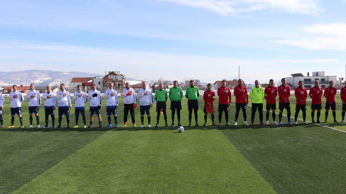 Vëllazërorja e yjeve të futbollit shqiptar mbyllet pa fitues