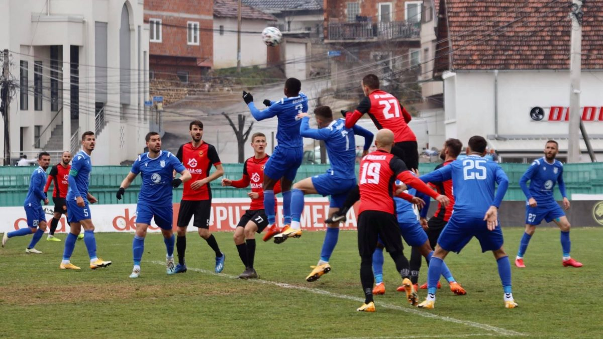 Drenica collects one point against the champion, Besa surprises Feronikeli