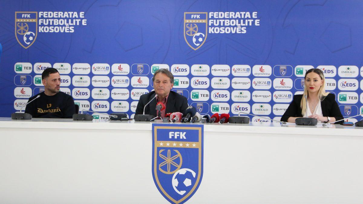 FFK prezanton logon e re dhe fanellat e Kombëtares për ciklin e ri kualifikues