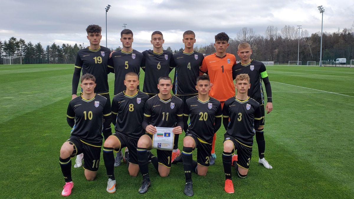 Kombëtarja U17 barazon në miqësoren e parë me Bullgarinë
