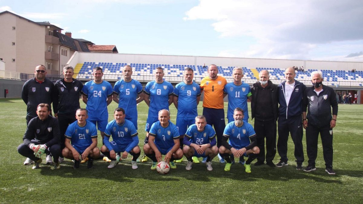 Ekipi i Veteranëve merr pjesë në turneun ndërkombëtar në Antalia