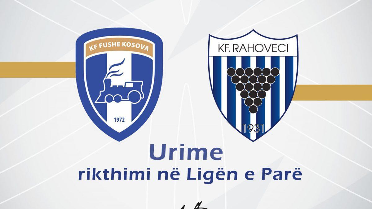 Presidenti Ademi uron KF Fushë Kosova dhe KF Rahoveci