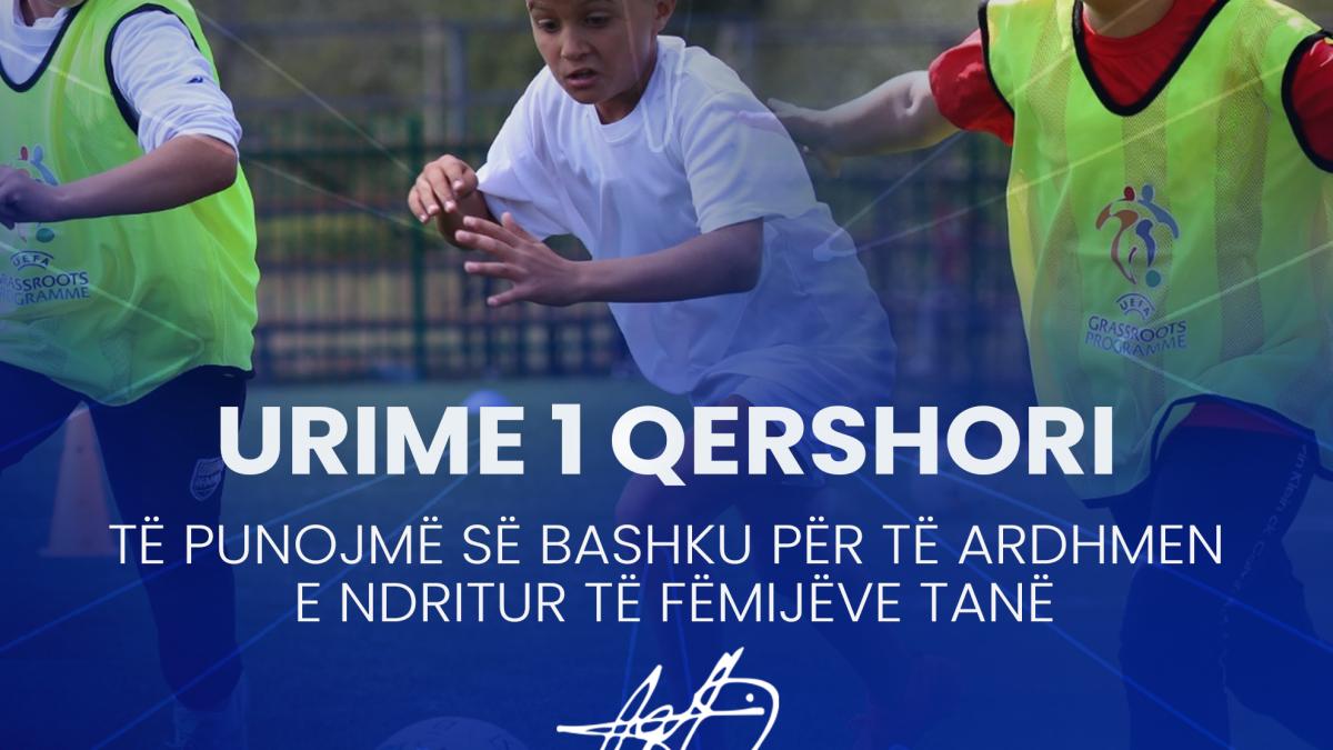 Mesazhi i presidentit Ademi për festën e fëmijëve