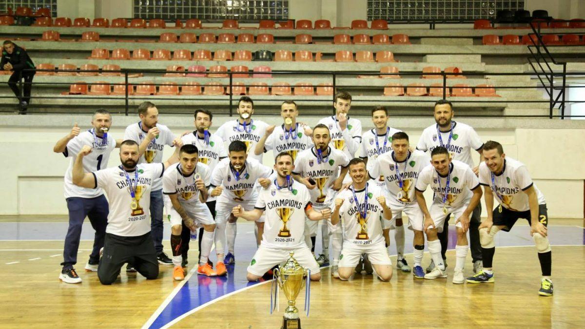 FC Liqeni kampion i Kosovës në futsall