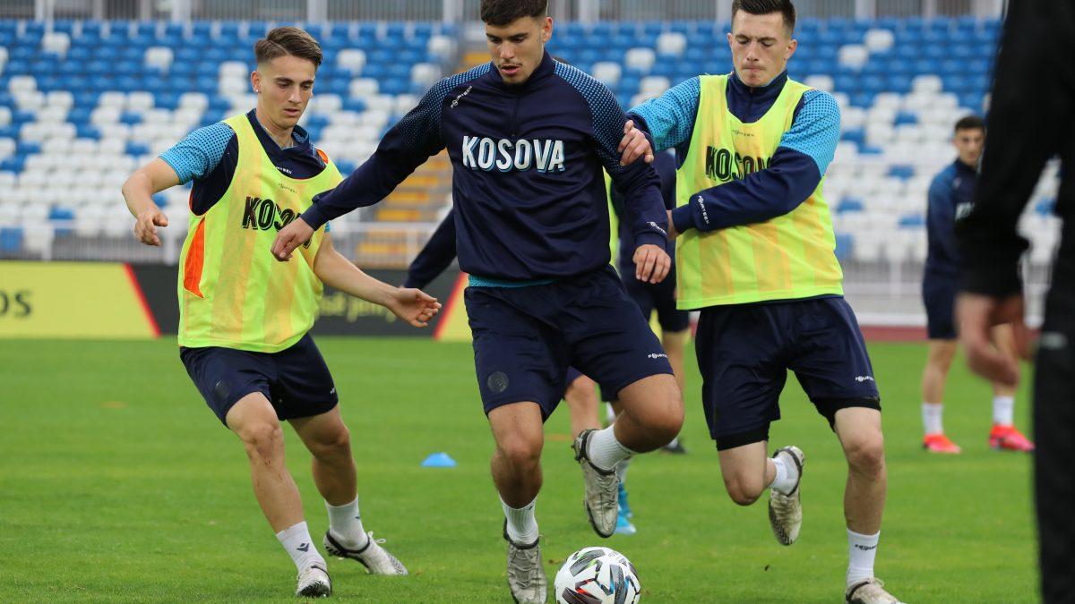 Kosova U21 zhvillon stërvitjen e fundit para ndeshjes kundër Andorrës