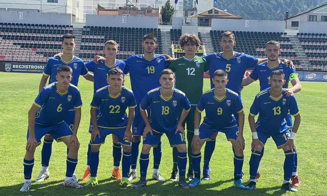 Kosova U19 pëson humbje në miqësoren e dytë nga Shqipëria U19