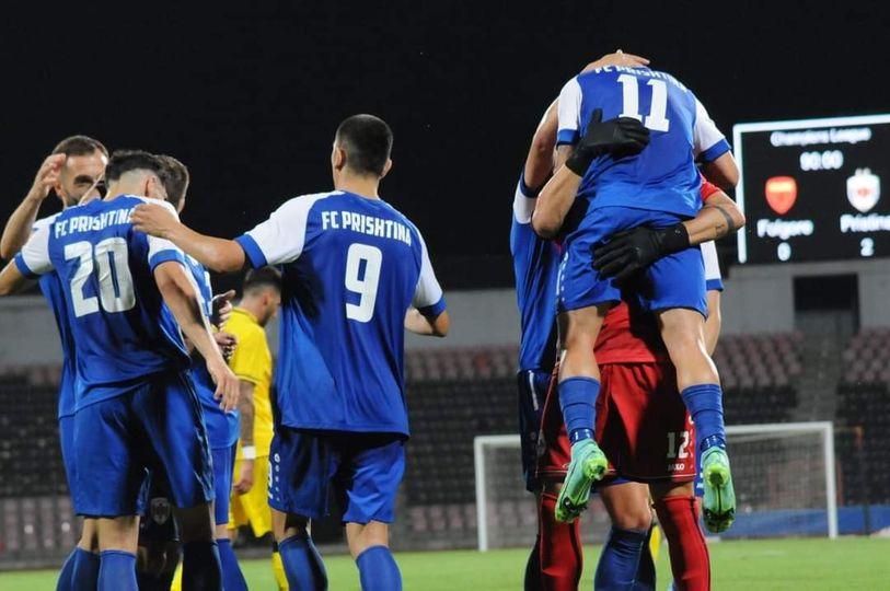 Prishtina debuton me fitore në Champions