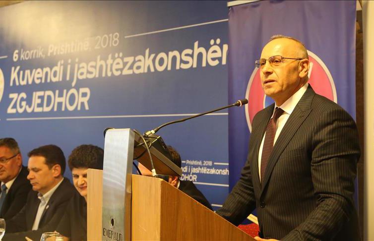 Mesazhi i presidentit Ademi në 3-vjetorin e zgjedhjes së tij në krye të FFK-së