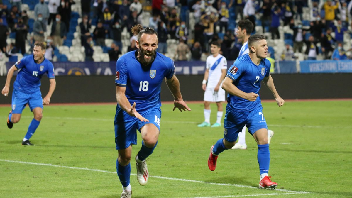 """Kosovo not defeated at """"Fadil Vokrri"""", Muriqi draws with Greece in the extra minutes"""