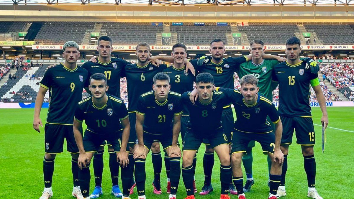 Kosova U21 bën paraqitje të mirë, por pëson humbje në Angli