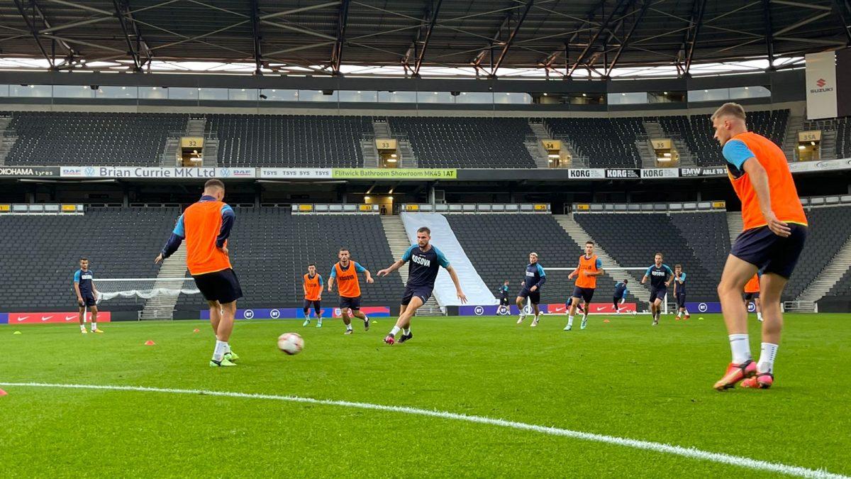 Dardanët U21 zhvilluan stërvitjen në Milton Keynes, të gatshëm për duelin me Anglinë