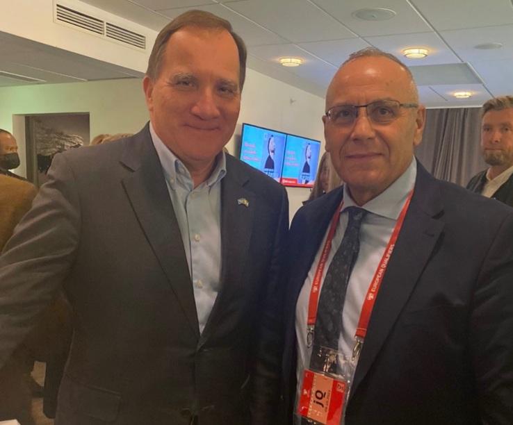 Presidenti Ademi takon kryeministrin suedez, Stefan Löfven