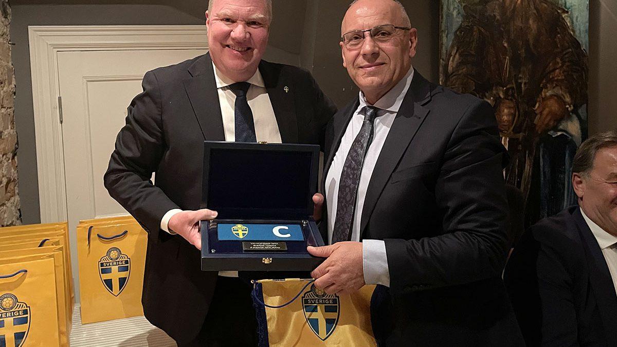 Presidenti Karl-Erik Nilsson shtroi darkë për krerët e FFK-së, vë në pah miqësinë me presidentin Ademi