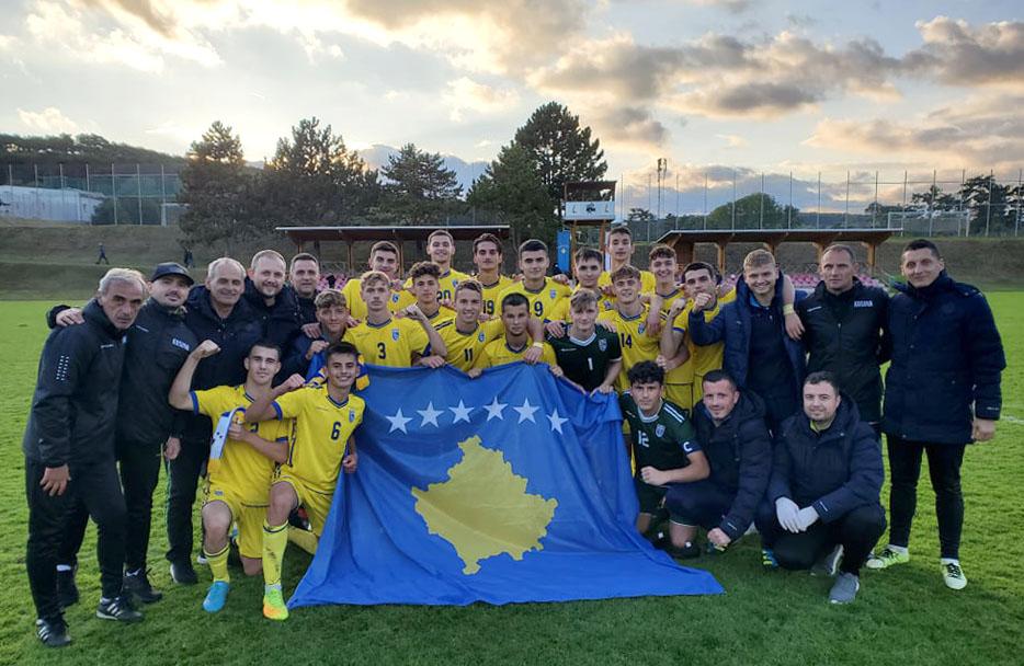 """Kosova U17 kualifikohet në """"Elite Round"""" për Euro2022"""